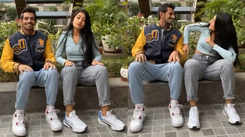 Dhanashree Verma and cricketer hubby Yazuvendra Chahal take up viral 'footwork challenge' and fans can't get enough of them!