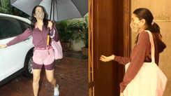 Sara Ali Khan's fun banter with paparazzi outside Manish Malhotra's house: 'Idhar hi hun main, option nahi hain, Manish ji ghar hi nahi khol rahe hain'