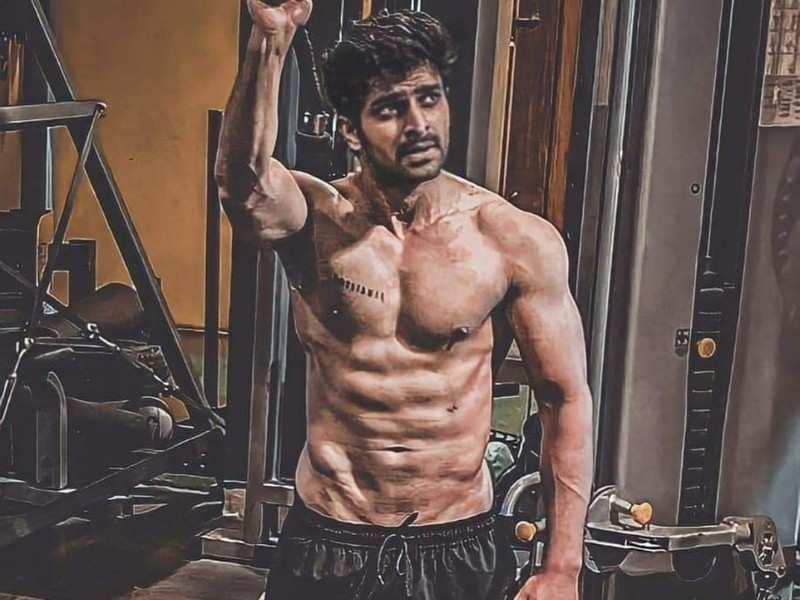 Naga Shaurya looks like a heartthrob in this viral gym picture