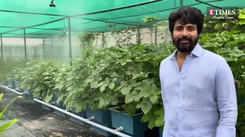 Sivakarthikeyan introduces his inspiring home garden to his social media followers