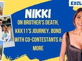 Nikki Tamboli shares how Khatron Ke Khiladi 11 helped her cope up with brother's loss