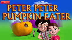 Nursery Rhymes in English: Children Video Song in English 'Peter Peter Pumpkin Eater'