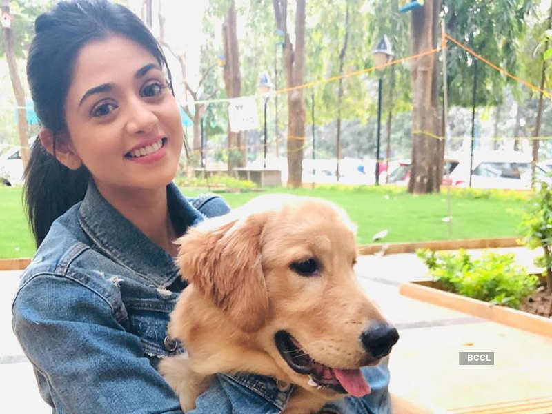 Tanvi Dogra with her dog Oscar