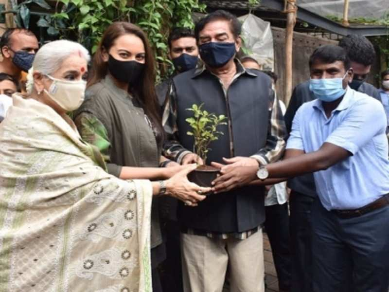 Sonakshi Sinha adopts a tree