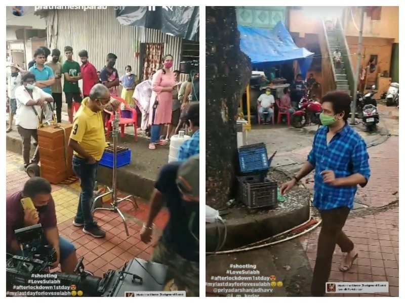 Prathamesh Parab starts shooting for 'Love Sulabh', says 'heard start camera action after a long time'
