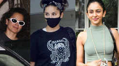 From Sunny Leone to Rakul Preet Singh, Bollywood celebs spotted in Mumbai