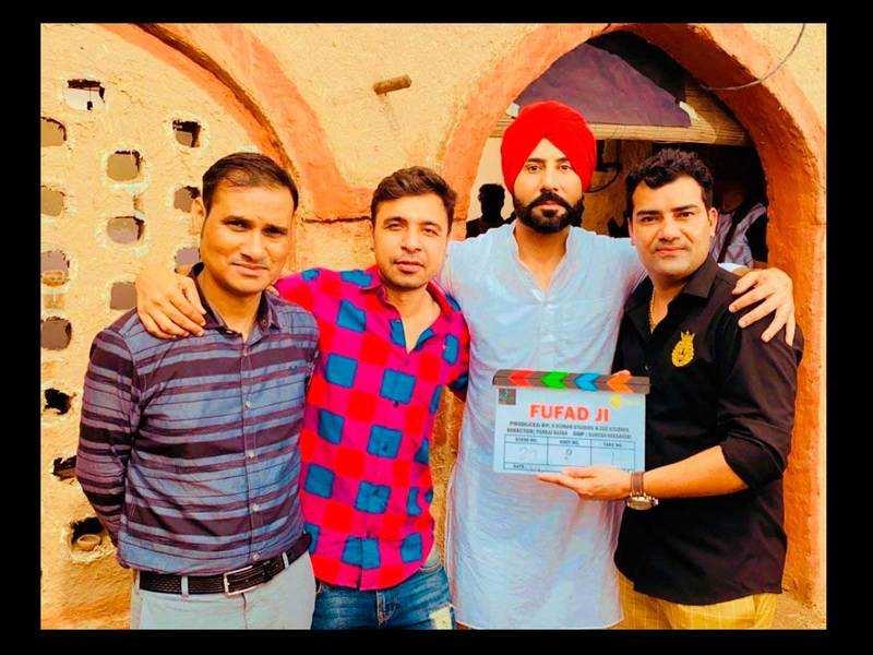 Fufad Ji: Binnu Dhillon kick starts the shoot of his new movie