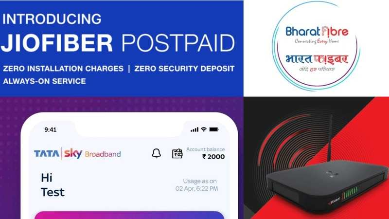 Reliance JioFiber, Airtel, BSNL or TataSky: Detailed comparison of the top broadband internet plans - Gadgets Now thumbnail