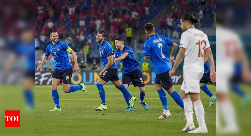 Locatelli, Immobile fire Italy into Euro 2020 last 16