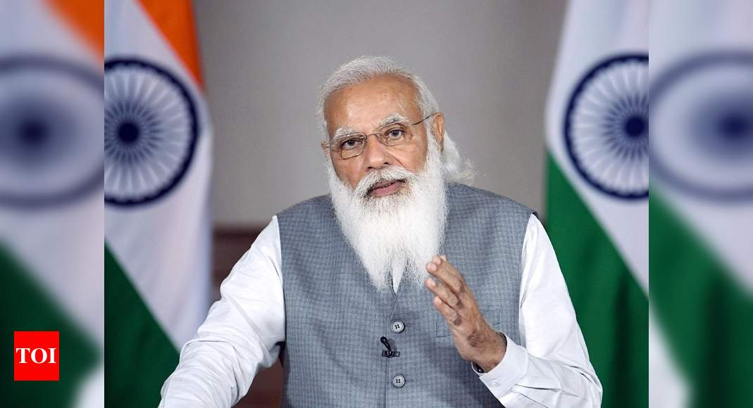 PM Modi cites India 'openness', seeks global investment