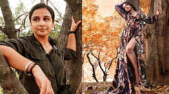 Vidya Balan reveals her first salary was Rs 500, says she just had to pose beside a tree!