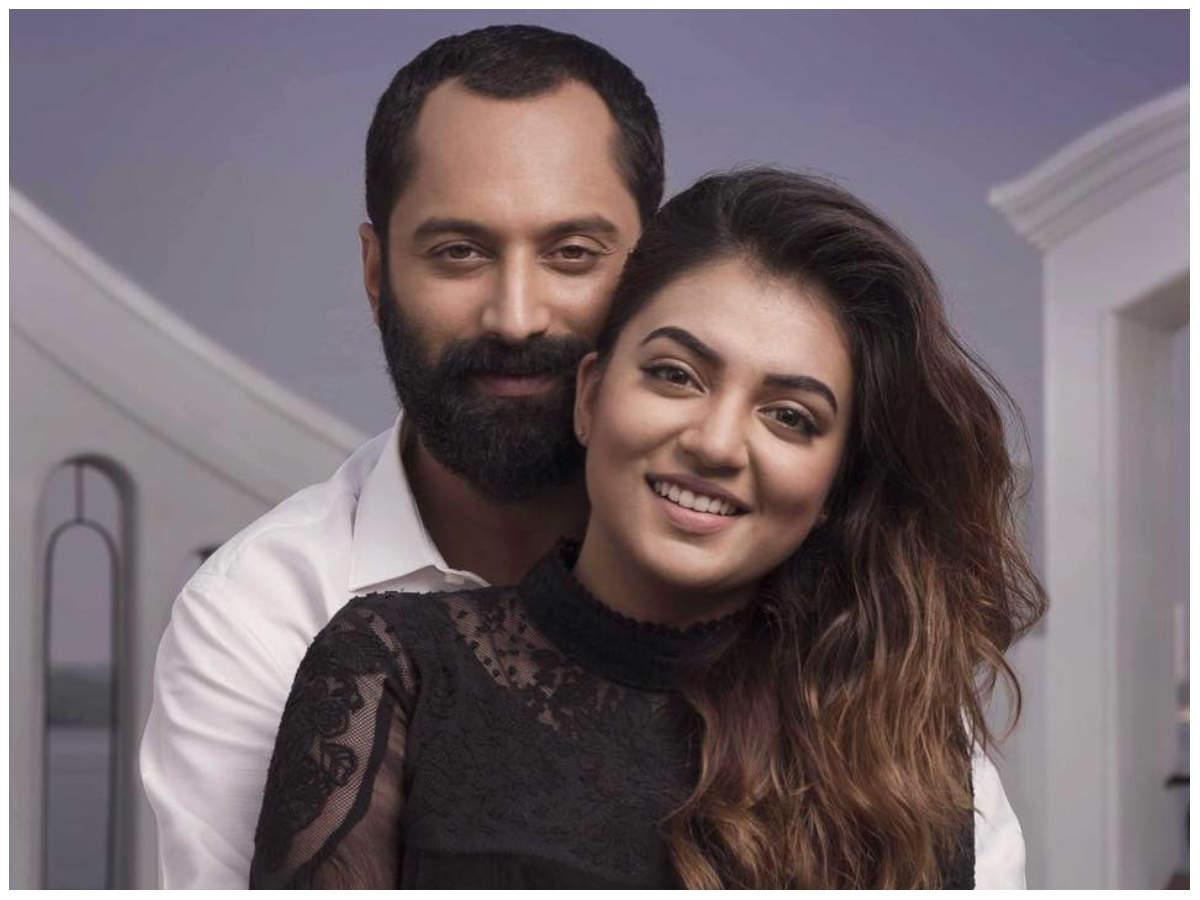 Fahadh Faasil on wife Nazriya Nazim