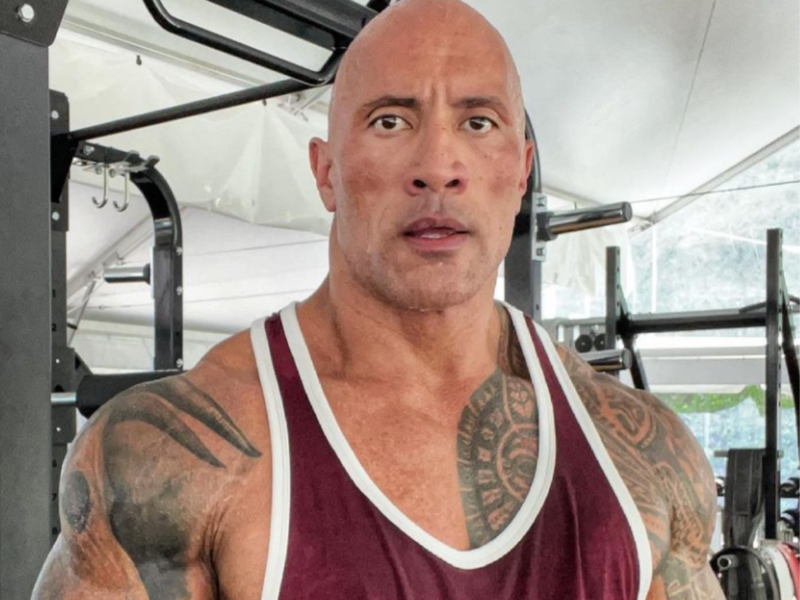 Dwayne Johnson reacts to 46 per cent respondents rooting for him to be US President