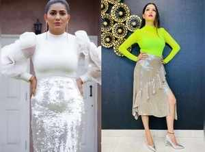 Sapna Choudhary dazzles in western outfits