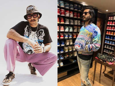 Celebs with coolest sneaker collections