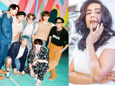 Amrita Rao twirls to BTS' 'Dynamite