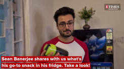 Sean Banerjee tells us what's his go-to snack in his fridge. Take a look!
