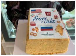 Swiss baker's Peace Cake for Biden-Putin summit rules the internet