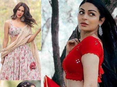 When Punjabi divas rocked Lehnga look