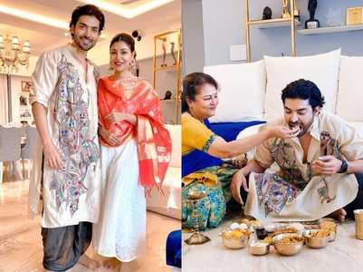 Gurmeet gets pampered by mother-in-law