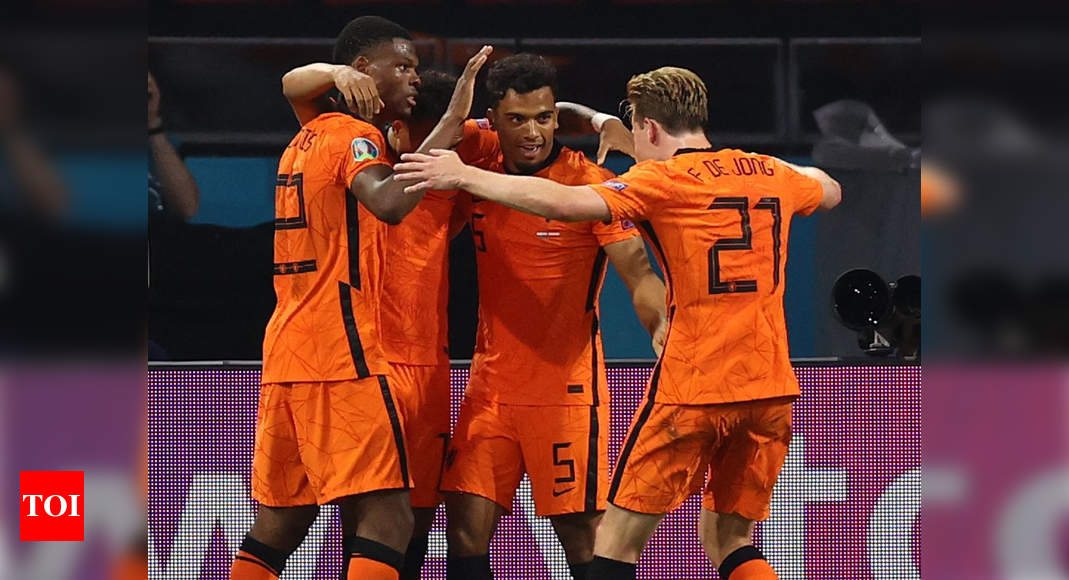 Euro 2020: Depay and Dumfries send Netherlands into the last 16 | Football News – Times of India