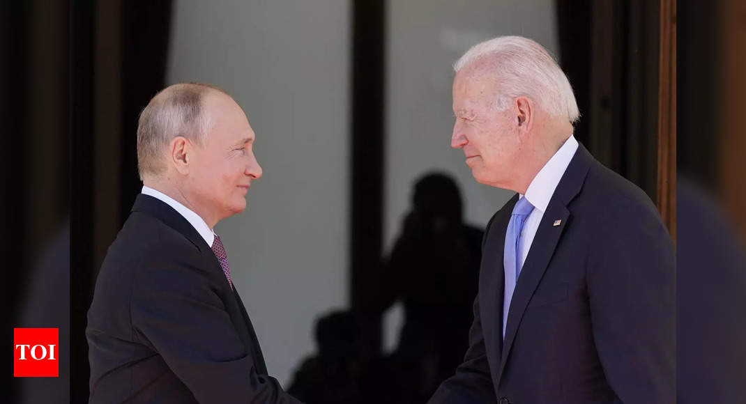 Biden presents Putin with a pair of iconic American-made aviators