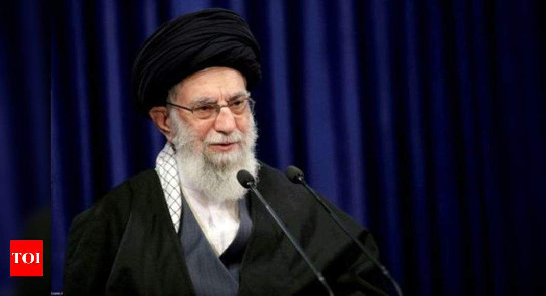 Iran's Supreme Leader casts first ballot in presidential election