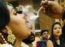 Viral video: Bride puffs away rings of smoke in style