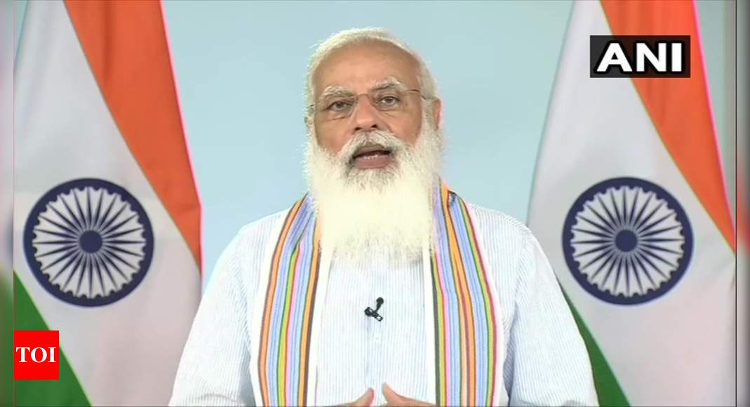 PM Modi launches customised crash course to upskill over one lakh 'Covid warriors' thumbnail
