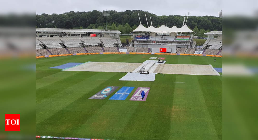 Southampton weather: Day one washout on the cards? Southampton weather not looking good | Cricket News – Times of India