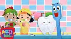 English Nursery Rhymes: Kids Video Song in English 'Brush Your Teeth'