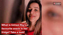 What are Ushasi Ray's favourite things in her fridge? Take a look!