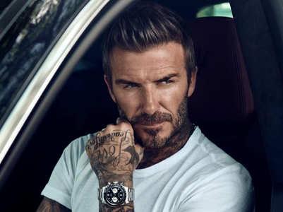 David Beckham's grooming secrets