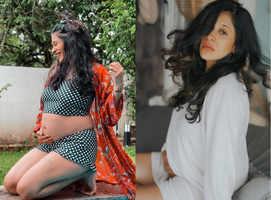 Kishwer's stylish maternity wear; in pics