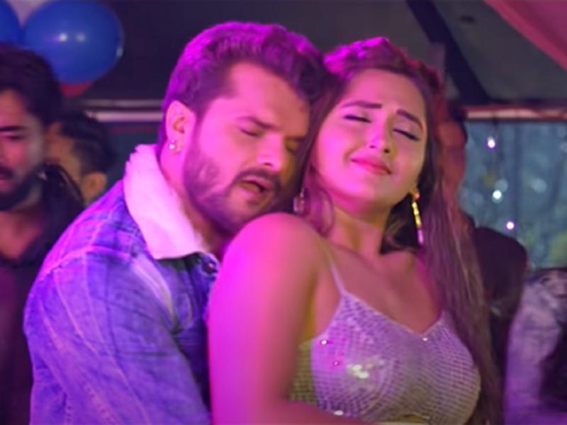 'Baapji': Khesari Lal Yadav and Kajal Raghwani starrer item song 'Machhariya' is out!
