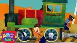 Nursery Rhymes in English: Children Video Song in English 'I've Been Working On The Railroad'