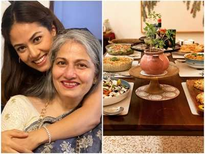 Mira shares pics from her mom's birthday