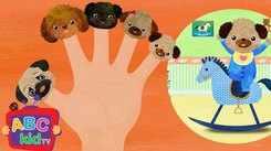 English Kids Poem: Nursery Song in English 'Finger Family - Dog'