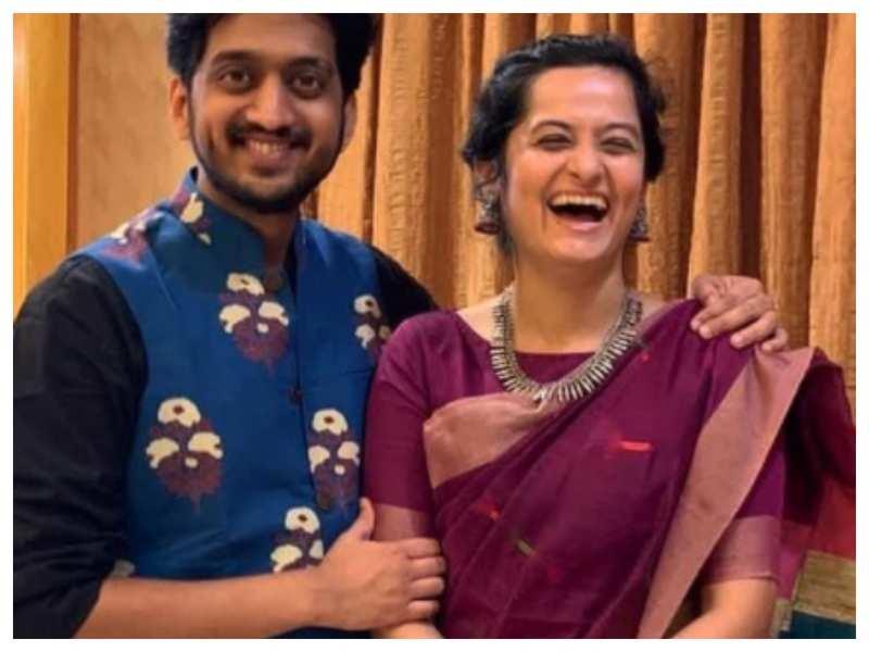 Amey Wagh shares an adorable video to wish his wife Sajiri on her birthday