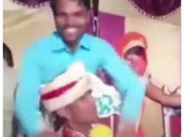 Viral video shows the groom beating his brother-in-law