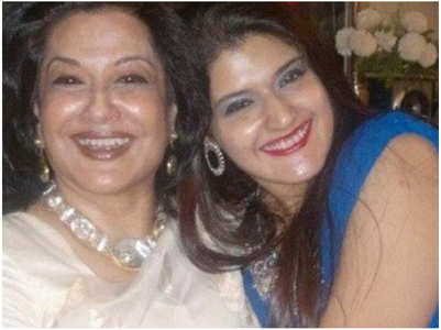 Moushumi's daughter's ashes immersed