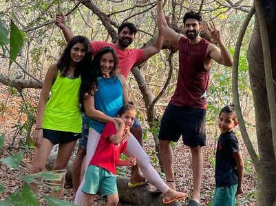 Arjit's vacation with Kumkum Bhagya actors