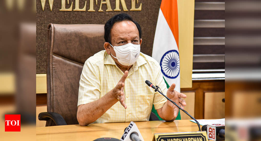 Coronavirus mutated and citizens let down guard, leading to second wave: Harsh Vardhan | India News – Times of India
