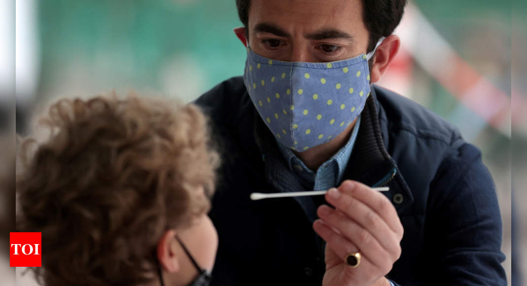 Delta variant cases in UK: Delta variant infections jump 33,630 in a week, making up nearly all Covid-19 cases in UK | World News – Times of India