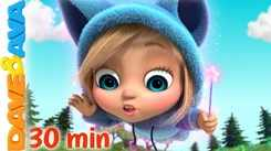 Watch Popular Childrens English Nursery Song 'Little Bunny Foo Foo And Many More' for Kids -  Check Out Fun Kids Nursery Rhymes And Baby Songs In English
