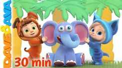 Watch Popular Childrens English Nursery Song 'Down In The Jungle And Many More' for Kids -  Check Out Fun Kids Nursery Rhymes And Baby Songs In English
