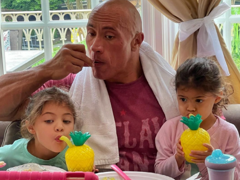 Dwayne Johnson says being father to daughters has made him 'more tender and gentler'