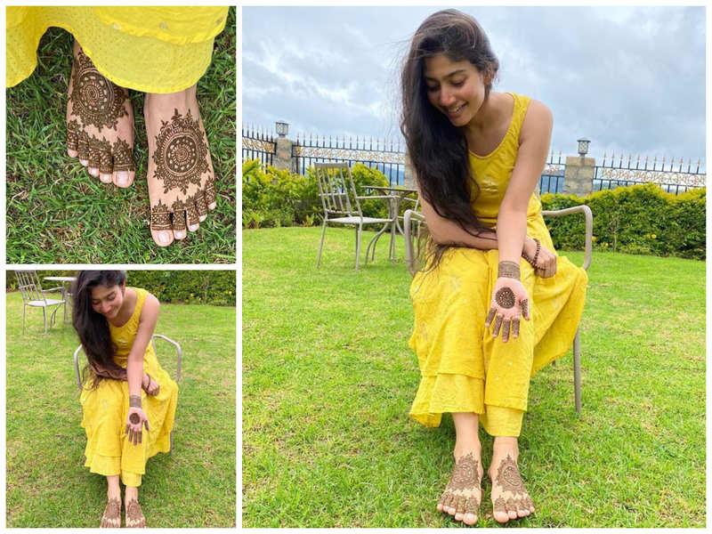 Sai Pallavi flaunts her mehendi skills in latest pictures