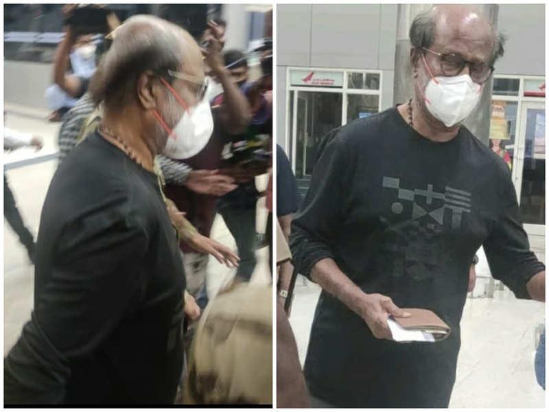Rajinikanth leaves to US for a health checkup