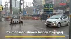 Pre-monsoon shower lashes Prayagraj